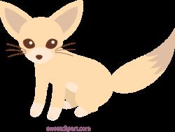 Cute Fennec Fox Clip Art - Free Clip Art