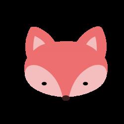 Red fox Art Clip art - Pink Fox Cliparts 600*600 transprent Png Free ...