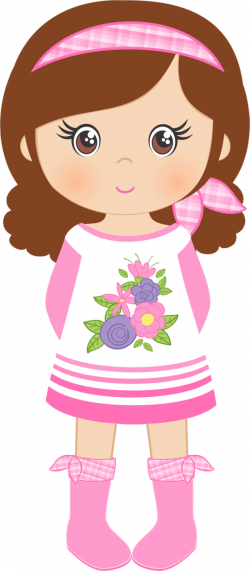 Spring Shabby Chic 7.png | Pinterest | Girls, Clip art and Dolls