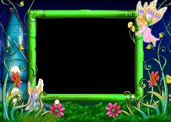 fairy tale photo frame, fairy tale frame png, Pari frame