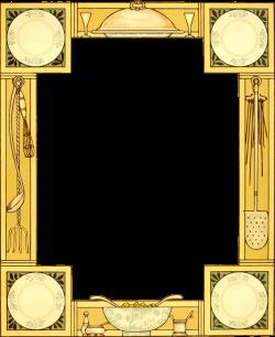 Clipart - Kitchen frame