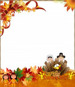 Thanksgiving PNG Photo Frame Happy Turkey Day | Gallery ...