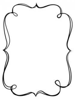 borders and frames | Simple Elegant Black Frame 2 - Free Clip Art ...
