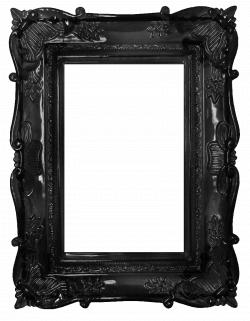 dark black deco frame #SilkDegreesHOME | MARCOS PARA CUADROS ...
