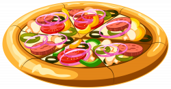 Pizza PNG Clip Art Image | Gallery Yopriceville - High-Quality ...