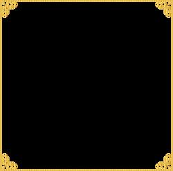 Gold Frame PNG Images Transparent Free Download   PNGMart.com