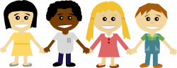 Image for Free Children Holding Hands People High Resolution Clip ...