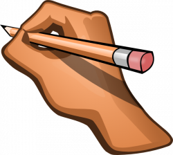 Pencil clipart handwriting - Pencil and in color pencil clipart ...