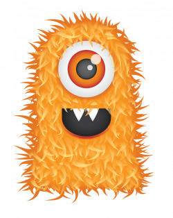 Free Cute Hairy Monster Clipart and Vector Graphics - Clipart.me