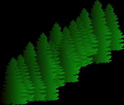 Green Fir Tree Style Christmas Mustaches Clipart - Free Clip Art ...