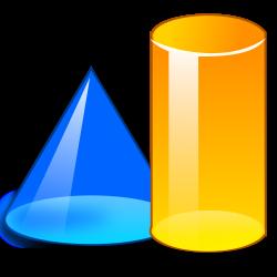 3D Shape Clipart#4180765 - Shop of Clipart Library