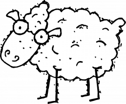 Lamb Clipart Black And White | Clipart Panda - Free Clipart Images