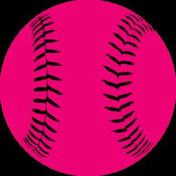 Pink Softball Hi | Free Images at Clker.com - vector clip art online ...