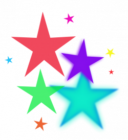 Rainbow stars clipart free clipart images - Clipartix