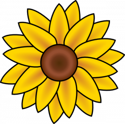 Sunflower Clip Art Free Printable | Clipart Panda - Free Clipart Images