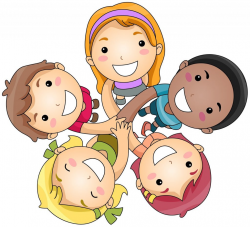 friendship-clipart-happy-friends-playing-clipart-1 | Peak ...