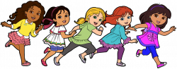 28+ Collection of Female Friends Clipart   High quality, free ...