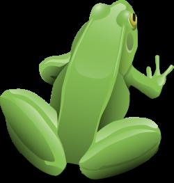 Sitting Frog Clip Art at Clker.com - vector clip art online, royalty ...