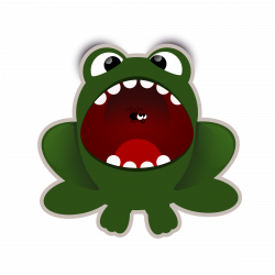 28+ Collection of Monster With Mouth Open Clipart   High quality ...