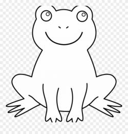 Black And White Frog Clipart 19 Frog Png Transparent - Frog ...