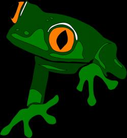 Frog, Simple Frog, Frot Outline Clip Art at Clker.com - vector clip ...