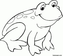 Free Outline Of A Frog, Download Free Clip Art, Free Clip ...