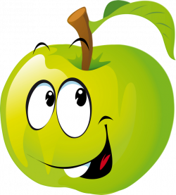 Funny Fruit 100.png | Emoticon and Clip art