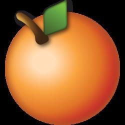 Download Orange Emoji Icon   Emoji Island