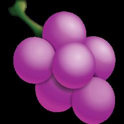 Download Grape Emoji Icon   Emoji Island