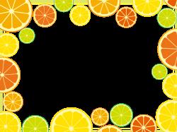 Clipart - Citrus Frame