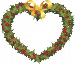 Wreath Christmas ornament Garland - Christmas wreath love peach ...