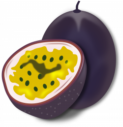 Clipart - Passion Fruit