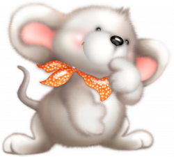 Cute White Mouse Clipart | Gallery Yopriceville - High-Quality ...