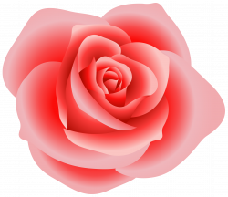 Large Red Rose Clipart | Gallery Yopriceville - High-Quality Images ...