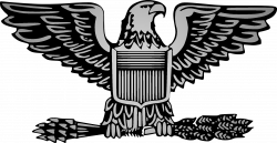 Eagle clipart army - Pencil and in color eagle clipart army