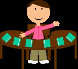 Teacher Table Clipart