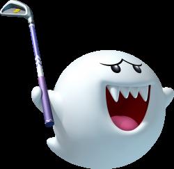 Image - Boo Artwork - Mario Golf World Tour.png | Fantendo ...