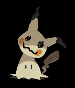 Mimikyu (Ghost/Fairy) | Pokémon Sun & Moon | Pinterest | Fairy and ...