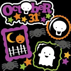 October 31st SVG halloween svg file ghost svg pumpkin svg skeleton ...