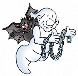 Halloween Clip Art by Phillip Martin, Ghost