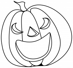28+ Collection of Pumpkin Clipart Black And White Transparent | High ...