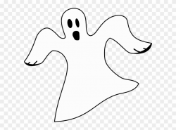Ghost - White Ghost Clipart (#539381) - PinClipart