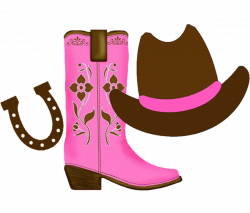cowgirl clipart | Cowgirl clipart with space on the right for each ...