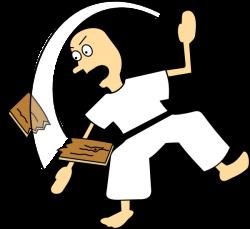 Karate Chop Clipart