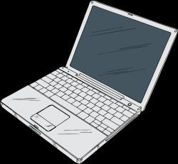 Laptop | Free Stock Photo | Illustration of a laptop computer | # 17116
