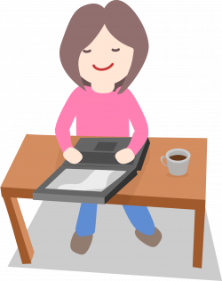 Clipart - Working