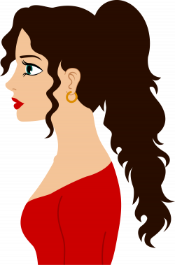 img.clipartfest.com 8c8c541a0e3bb332e863b8988ce10398_-haired-woman ...