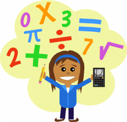 28+ Collection of Math Girl Clipart | High quality, free cliparts ...