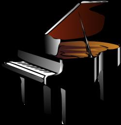 Piano Clip Art at Clker.com - vector clip art online, royalty free ...