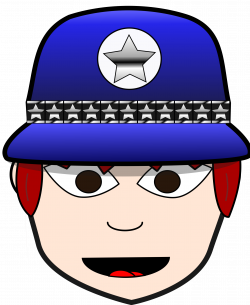 Clipart - Police Woman 3